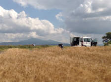 View of Tuscany during our art workshops in Italy
