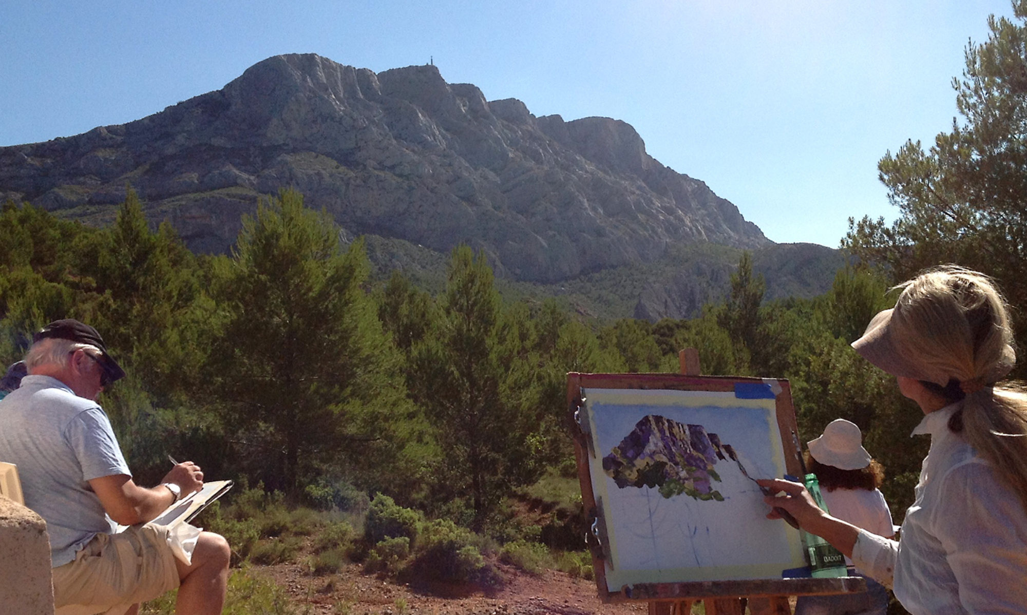 Painting Art Workshops Italy (Tuscany) France (Provence) Colombia