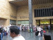 Florence train station for painting workshop Studio Italia